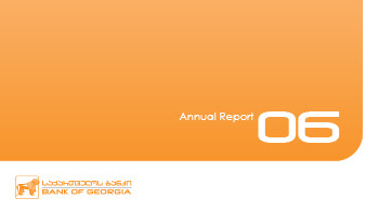 Bank of Georgia Annual Report 2006